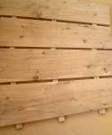 Boards with loose tenons