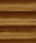 Cherry tables - veneered panels showing laminated plies