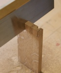 Sawing drawer dovetails