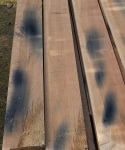 Hampstead oak - blue stain from iron nails
