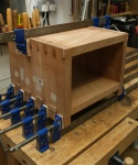 Nesting tables - gluing up