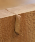 Nesting tables - sawing waste from dovetails