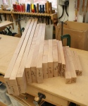 Nesting tables - sawn components